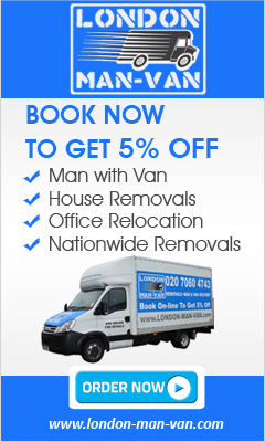 hire man with a van london