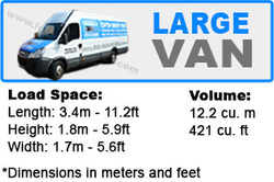 large van with man